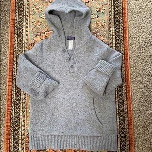 Patagonia hooded wool sweater